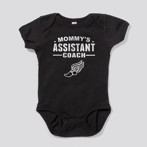 Mommy's Assistant Track Coach Baby Bodysuit