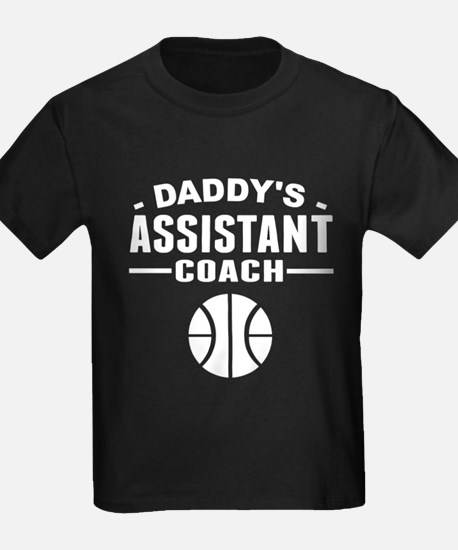Daddy's Assistant Basketball Coach T-Shirt