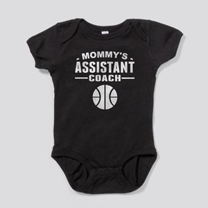 Mommy's Assistant Basketball Coach Baby Bodysuit