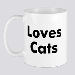 Loves Cats Mug
