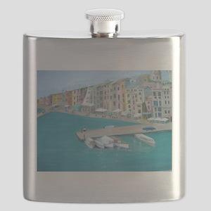 Mediterranean Harbor Flask