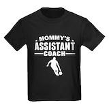Moms coach assistant Kids T-shirts (Dark)