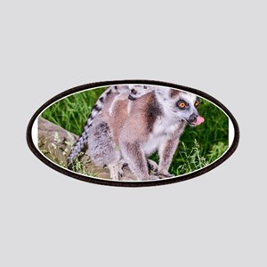 RING TAILED LEMUR MOTHER AND BABIES Patch