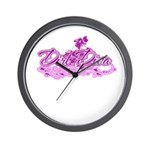 DirtDivaPink Wall Clock