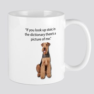 Stoic Airedales Epitome of the Term Mugs