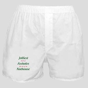 Jolliest Assholes Boxer Shorts