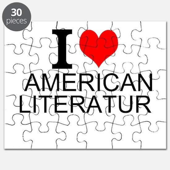 I Love American Literature Puzzle