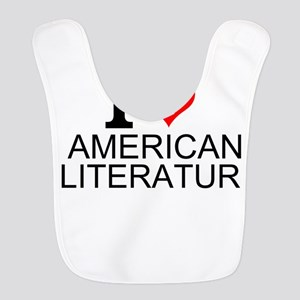 I Love American Literature Bib