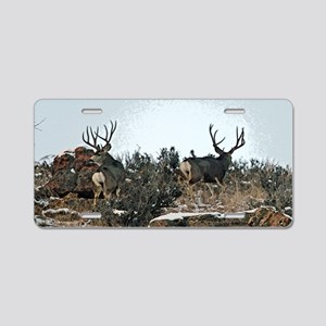 Wood wall bucks 15 Aluminum License Plate