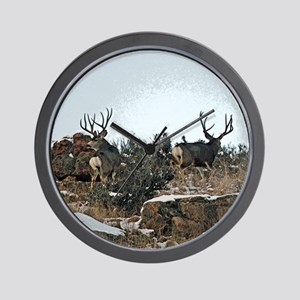 Wood wall bucks 15 Wall Clock