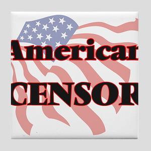 American Censor Tile Coaster