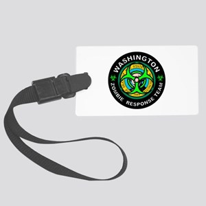WA ZRT Green Large Luggage Tag