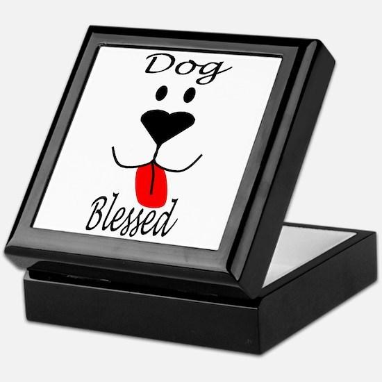Dog Blessed Keepsake Box