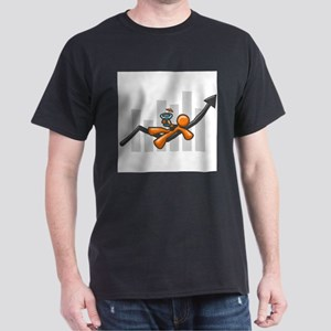 Orange Man Success Dark T-Shirt