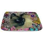 Stella Cat Butterflies Bathmat