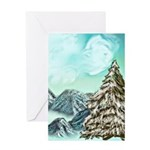 Peace And Joy Card Greeting Cards