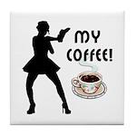 My Coffee Tile Coaster