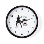 My Coffee Wall Clock