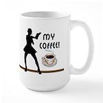 My Coffee Large Mug