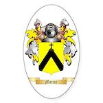 Mattar Sticker (Oval 10 pk)