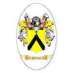 Mattar Sticker (Oval 50 pk)