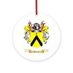 Mattar Round Ornament
