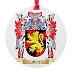 Matis Round Ornament
