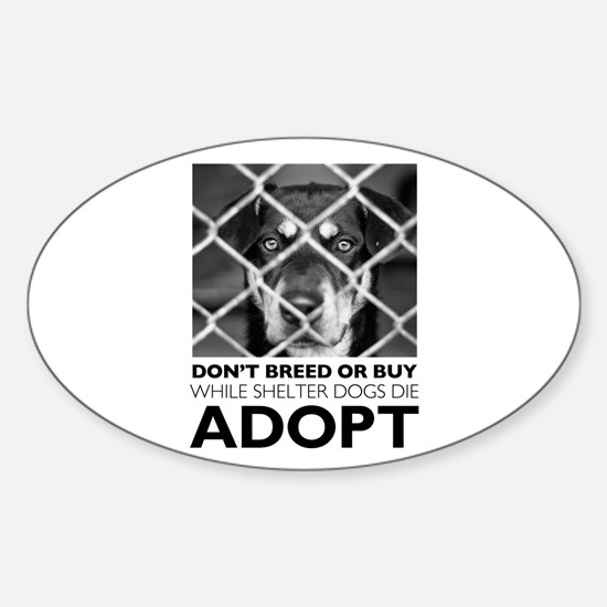 Shelter Dog Decal