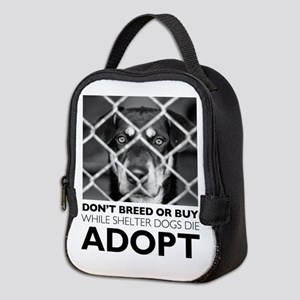 Shelter Dog Neoprene Lunch Bag