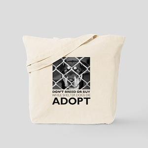 Shelter Dog Tote Bag