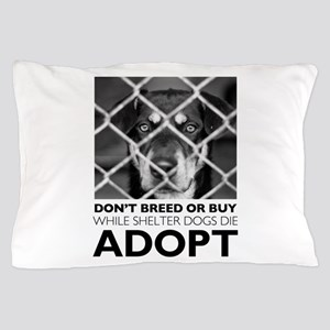 Shelter Dog Pillow Case