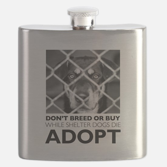Shelter Dog Flask