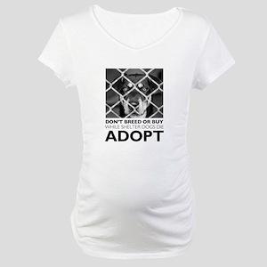 Shelter Dog Maternity T-Shirt
