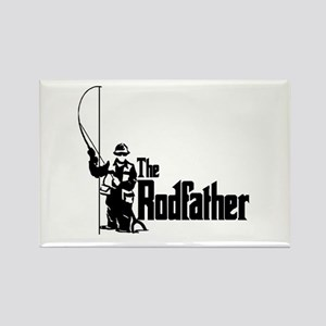 The Rodfather Fun Fishing Quote For Him Magnets