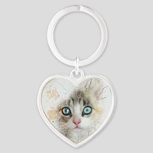Kitten Painting Keychains