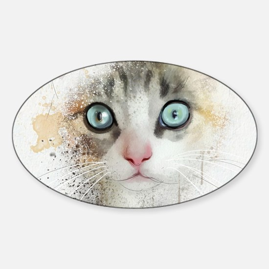 Kitten Painting Decal