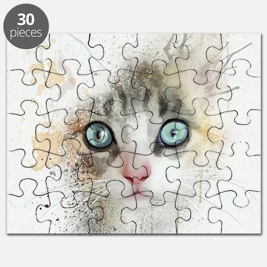 Kitten Painting Puzzle