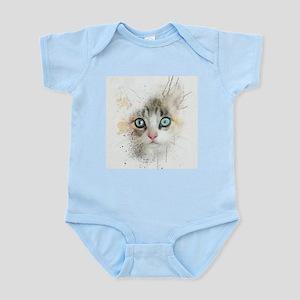 Kitten Painting Body Suit