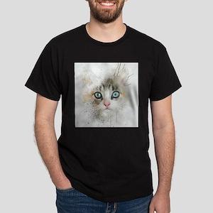 Kitten Painting T-Shirt
