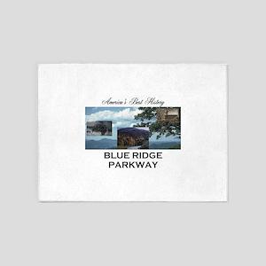 Blue Ridge Americasbesthistory.com 5'x7'Area Rug