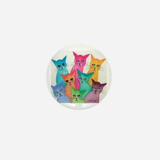 Cool Kitten Mini Button