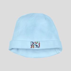 shrimp party baby hat