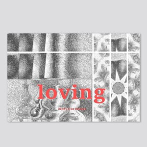 Loving Theme Day Postcards (package Of 8)