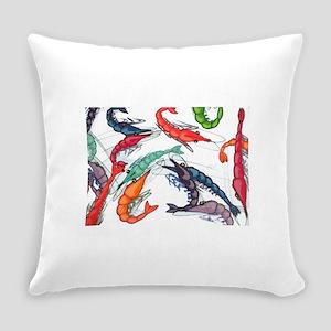 shrimp party Everyday Pillow
