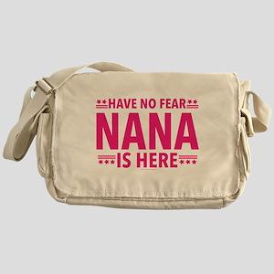 Nana Is Here Messenger Bag