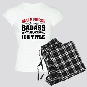 Badass Male Nurse Women's Light Pajamas