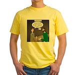 Stupid Jewelry Ideas Yellow T-Shirt