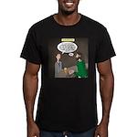 Stupid Jewelry Ideas Men's Fitted T-Shirt (dark)