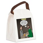 Stupid Jewelry Ideas Canvas Lunch Bag