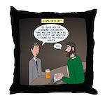 Stupid Jewelry Ideas Throw Pillow